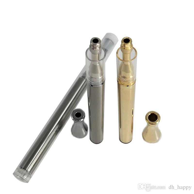 Disposable E-Cigarette supplier AC1003 .5g Ceramic Glass Vape pen 280mah Battery Empty Ceramic coil Cartridges Disposable Pens DHL