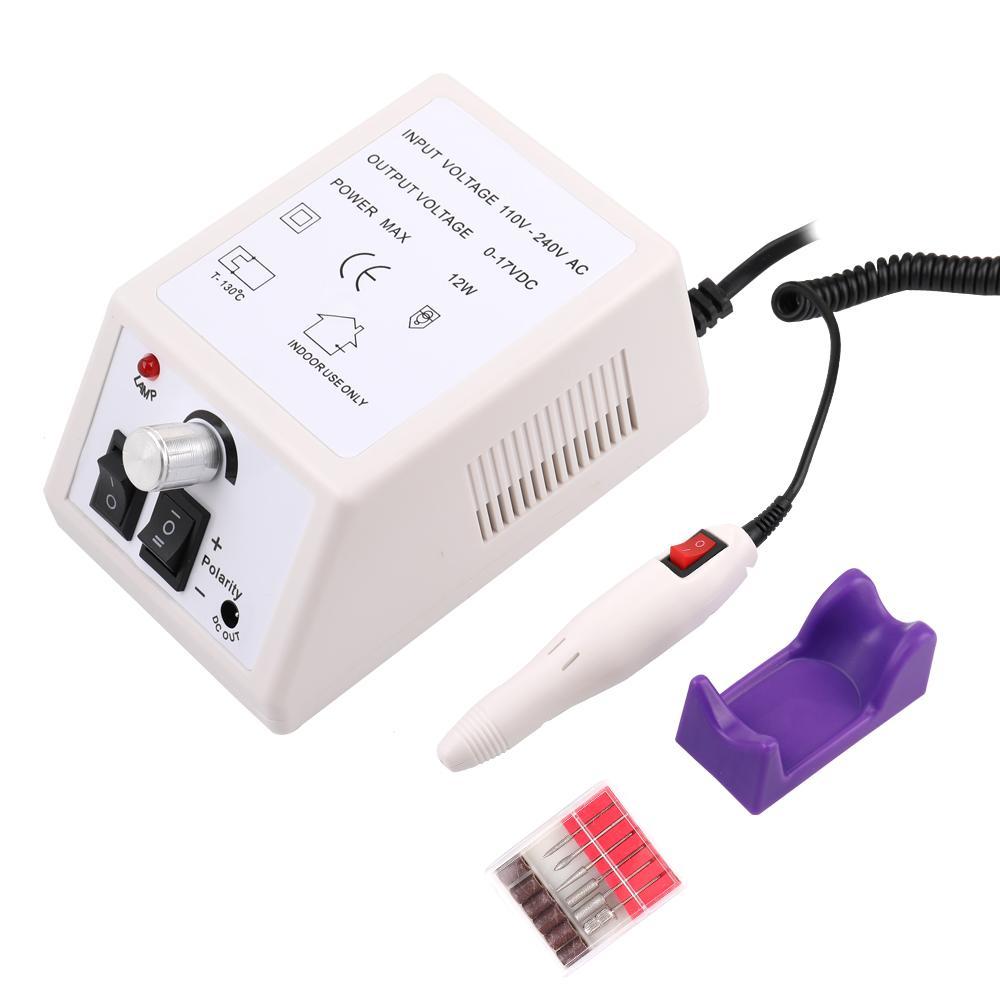30000 RPM Elétrica Prego Broca Máquina Elétrica Manicure Máquina Brocas Acessório Kit Pedicure Prego Broca Arquivo Bit Prego ferramentas