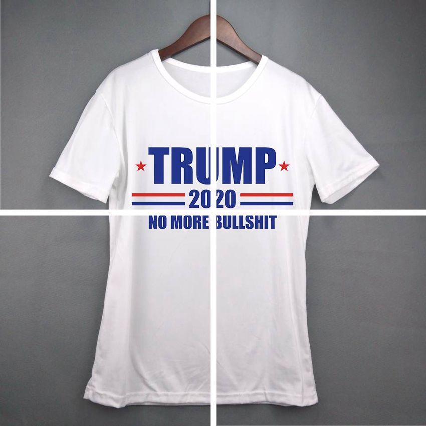 mulheres Donald Trump Train 2020 T-shirt O-Neck manga curta bandeira dos EUA Mantenha-americano Grande carta Tops Camiseta LJJA3834