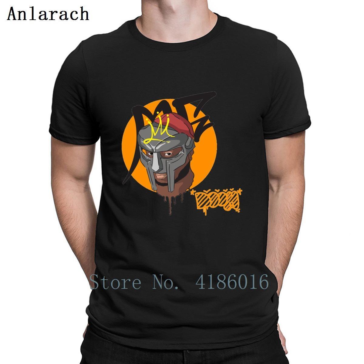 Mf Doom Rapper Concept Art-T-Shirt atmungsaktiv Frühling Letters Over Größe 5xl Fit Short Sleeve Designs Homme Hemd