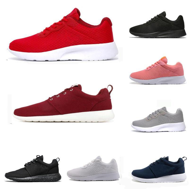 2020 حار بيع الاحذية للرجال والنساء عداء الثلاثي أسود أبيض أحمر رجل تنفس مدرب الرياضة أحذية رياضية في الهواء الطلق المشي والركض
