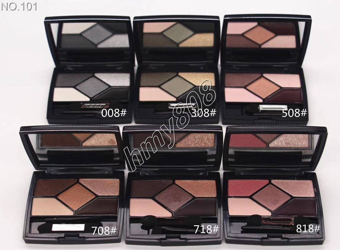 Fabrika doğrudan ücretsiz kargo yeni sağlık güzellik makyaj DD202 # 5 renk göz farı