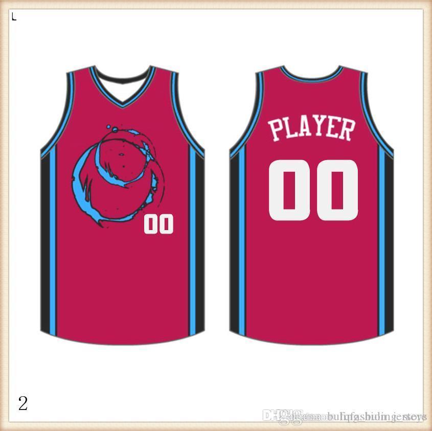 2019 2020 pullover di pallacanestro Quick Dry Blu Rosso marchi del ricamo libero di trasporto a buon mercato all'ingrosso Formato degli uomini Jersey325
