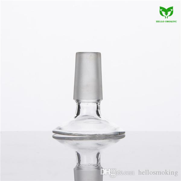 Glass Stand for Bowl Piece or Domes Quartz Banger Nail Glass Adaptor Stand 18mm14mm Frosted Joint Dropdown 377