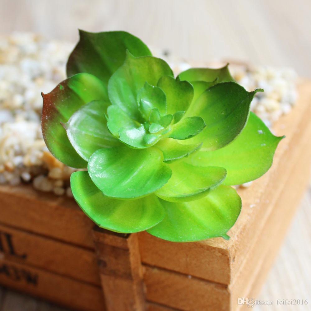 new Charming Faux Artificial Succulent Plants Emulational Cactus Plants for Office Home Table Desk Garden Displayed Mini Flower Decoration