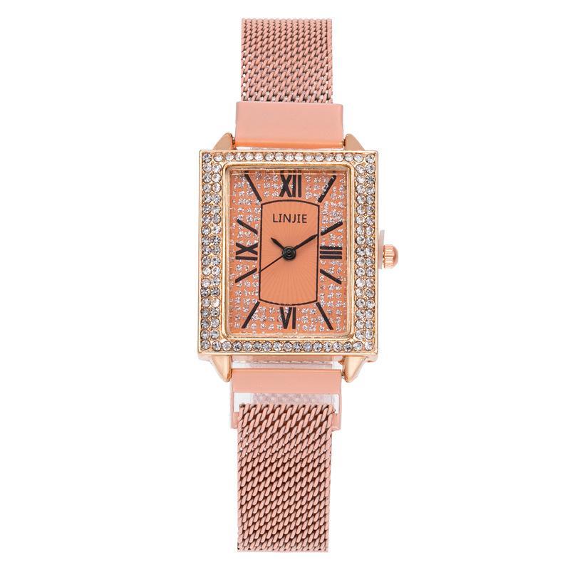 Yeni Gelenler Zaman sınırlı Büyük Satış high-end moda elmas bayanlar kemer izle Starry Romen rakamları elmas mıknatıs Ücretsiz Kargo izle