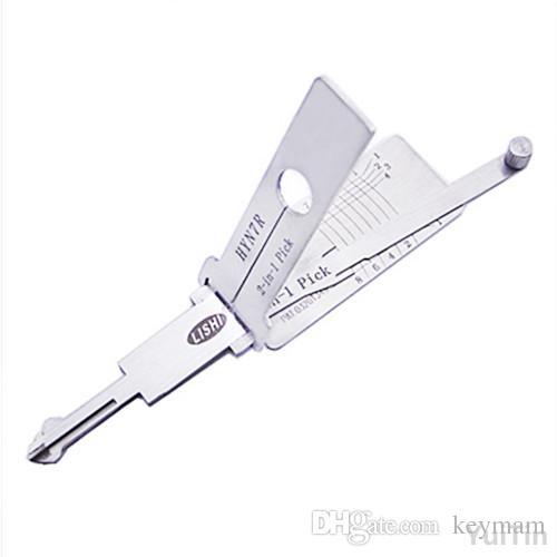 HYN7R LISHI 2 in 1 Tool Auto Decoder Lock Plug Reader Car Hand Tool