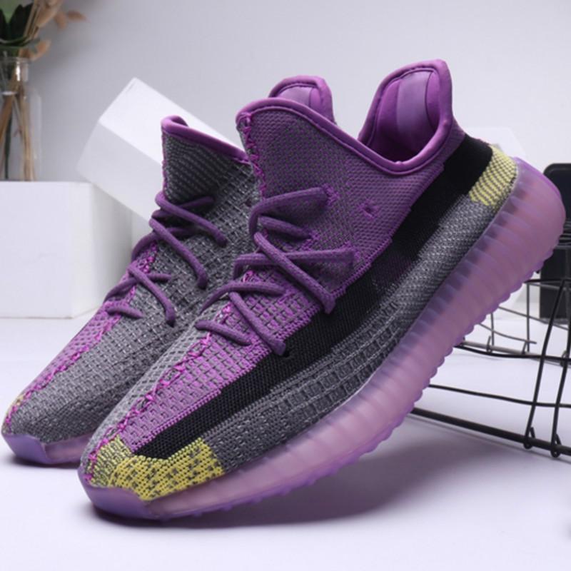 Running Shoes Mens Yecheil Antlia Preto estática Citrin Reflective argila verdadeira forma Kanye West Mulheres instrutor desportivo Sneakers Arthur