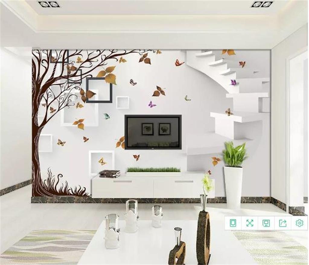 Custom 3d Wallpaper 3d Framed Simple Maple Living Room Bedroom Background Wall Decoration Mural Wallpaper Wallpapers Free Hd Wallpapers Girls From