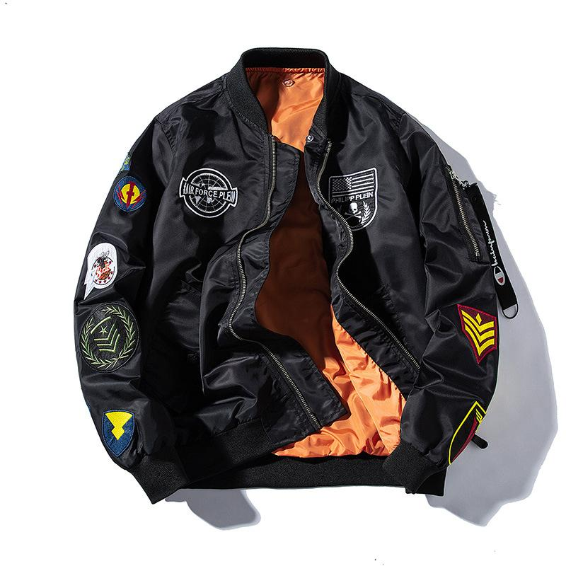 Add Cotton Dance Baseball Uniform Flight Jacket High Street Hip-hop Embroidery Baseb Explosion Models in Europe and America