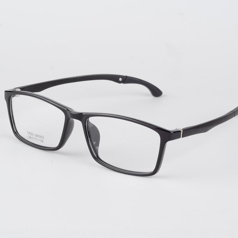 Ultra Hafif TR90 olmayan deforme spor erkek çerçeve miyopi Miyop Gözlük Gözlük çerçevesi