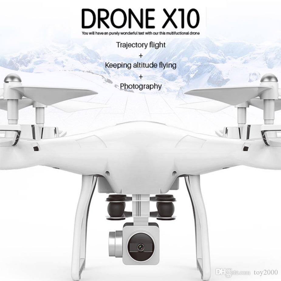 Yepyeni X10 S10 kamera ile İHA kumandalı helikopter FPV insansız UFO rc helikopter rc drone hava fotoğrafçılığı dört ekseni