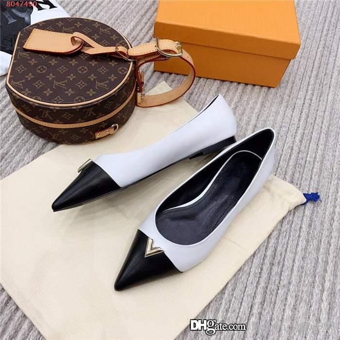 2020 إمرأة مطابقة اللون مدبب الأحذية ذات الكعب العالي، مع مجموعة واسعة من الأحذية ذات الكعب خنجر لفستان الأعمال الأحزاب مجموعة كاملة من علبة حذاء