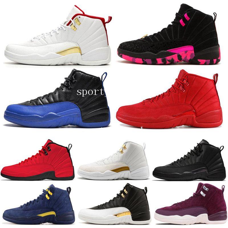 12 Winterized WNTR Gym Red Michigan Scarpe da pallacanestro da uomo The Master Flu Game Ti Graduation Pack 12S scarpe sportive da uomo designer US 7-13