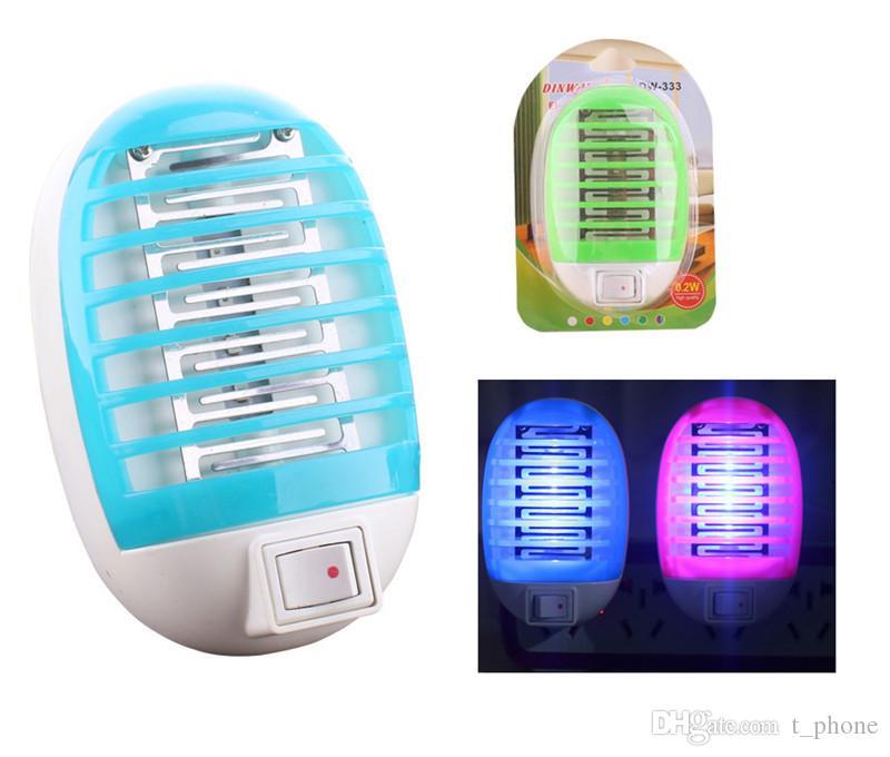 LED 모기 램프 등 친환경 광촉매 모기 가정용 안티 모기 전기 곤충 킬러 무료 배송 DHL