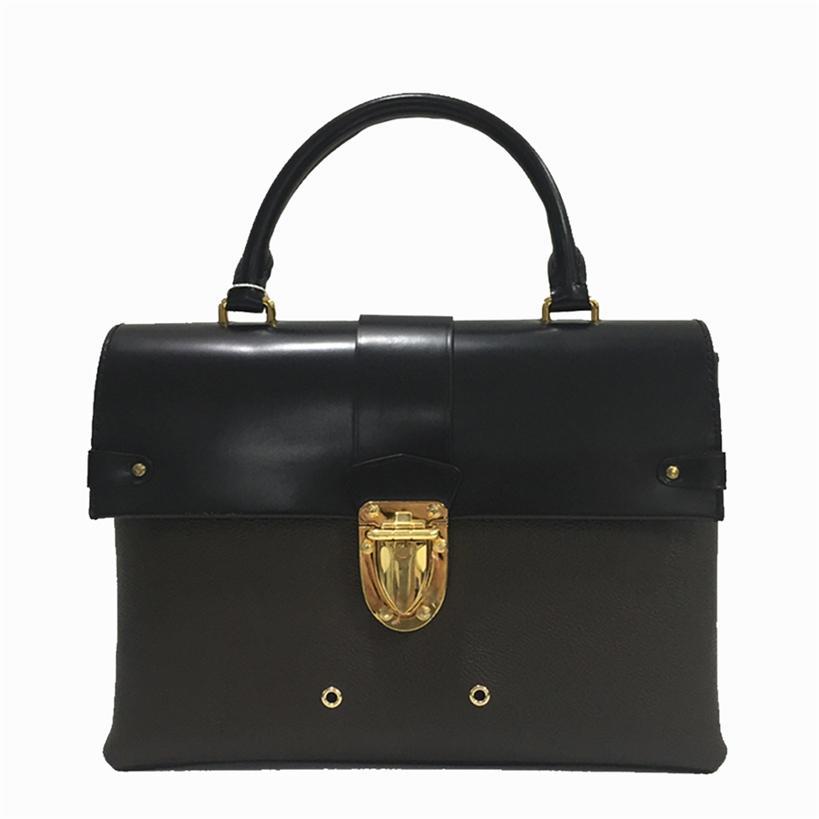 Mode 77 Ledertaschen Handtasche Taschen Tasche Rucksack Frauen Tote Tasche Geldbörsen Schulterbraune Kupplung Taschen Geldbörse Womens Handtaschen 668 Iwikm