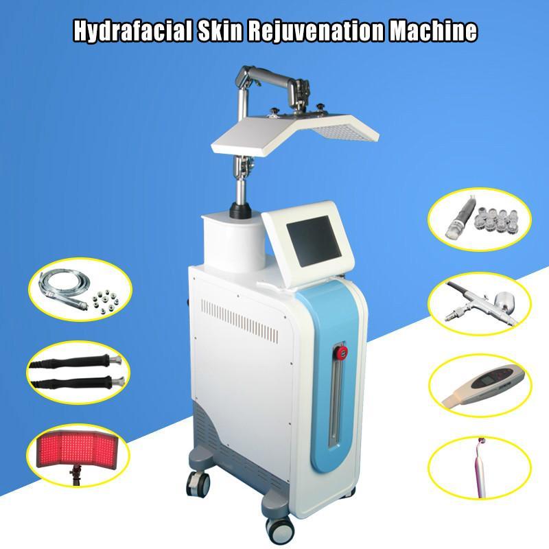 Профессиональный портативный PDT Bio-Light Therapyskin Hydra дермабразия машина Гидро Микродермабразия Машина для лица