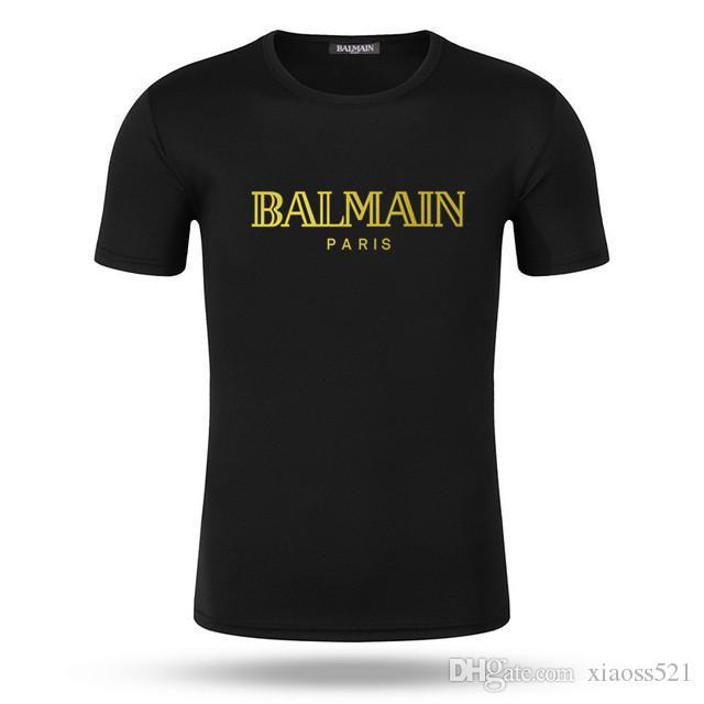 Lüks Erkek T Shirt Casual Kısa Kollu Moda Köpekbalığı Baskı Yüksek Kalite Erkekler Kadınlar Hip Hop Tişörtler