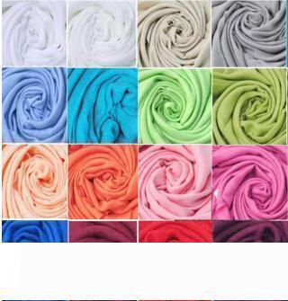 free shipping DHL wholesale 40pcs Pashmina Cashmere Silk Solid Shawl Wrap Unisex Scarf Women's Scarf Pure 40 Color Scarf