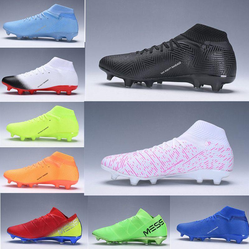 Manual brumoso transportar  Compre Botas De Fútbol Con Cordones Nemeziz Messi 18.1 FG Niños Jóvenes  Niños Botas De Fútbol Zapatos De Fútbol Junior 360 Agility Vendaje A 38,63  € Del He625412 | DHgate.Com