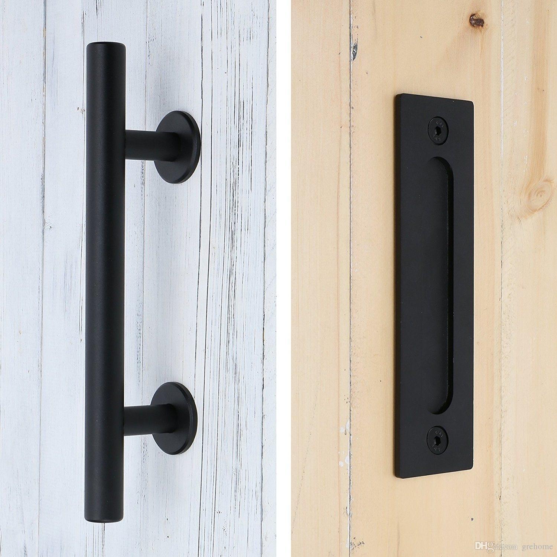 Sliding Barn Door Pull Door carbon steel//stainless steel 304 Lock Door Hardware