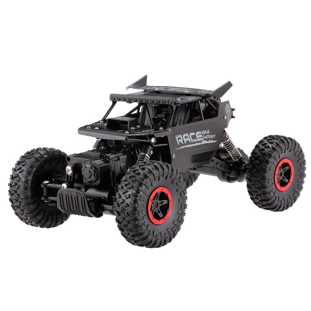Goolsky 9118 1 :18 Rc Car 2 .4g 4wd Alloy Metal Body Shell Crawler Rc Buggy Car Suv Vehicles Remote Control Toys