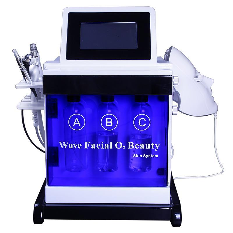 la machine beauté rajeunissement de la peau bio lift rf dermabrasion microdermabrasion microcourants nettoyage de l'équipement de la machine resserrement de la peau de la peau RF