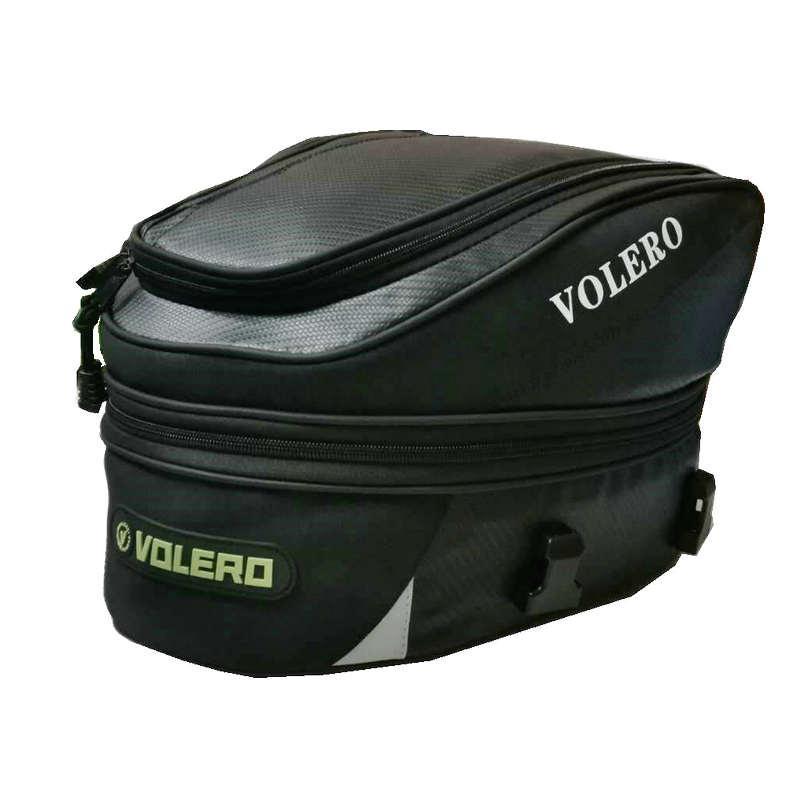 La cola de la motocicleta bolsa multi-funcionales duraderos asiento trasero del bolso del asiento posterior bolsas pueden ser bolsas de hombro bolsos de mano a prueba de agua