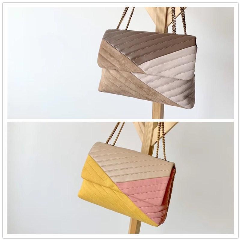 alta qualidade mulheres saco de embreagem tb bolsa Crossbody costura cor da pele de carneiro saco de Kira da viga bolsa de ombro conversível marcas desinger de luxo