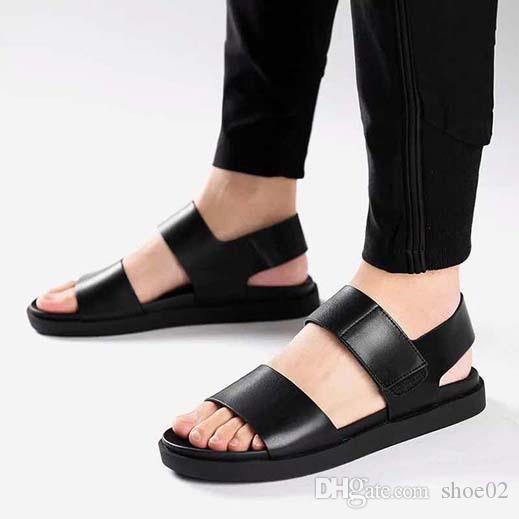 С коробкой женщина тапочки каблуки обувь сандалии натуральная кожа высокое качество тапочки мода потертости тапочки Повседневная обувь Бесплатная доставка DHL PT743