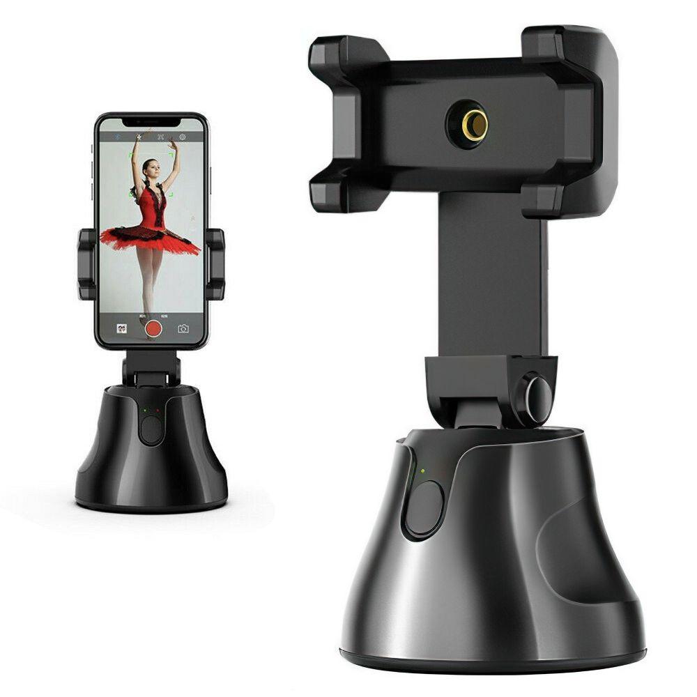Auto Tracking Smart-Shooting-Telefon-Halter Smartphone Selfie Shooting Gimbal Objekt 360 Umdrehung Auto Face Tracking-Halter