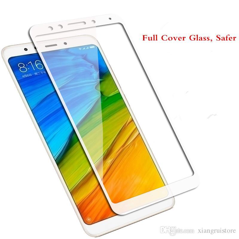 Nuovo vetro temperato 9H Full Cover per Xiaomi MI Max Mix 3 Pocophone F1 Redmi Note 6 Pro 6A 6X 8 8SE 8 Pro A2 Lite Pellicola salvaschermo