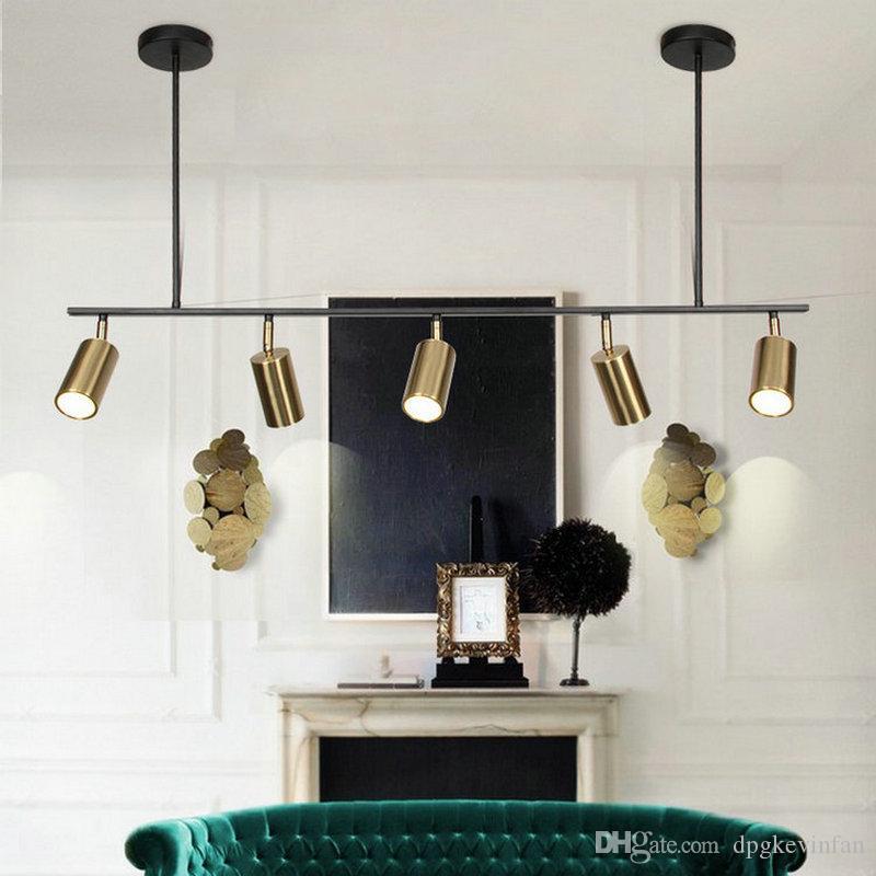 Moderna nórdica Lustre Lámpara colgante colgante para el dormitorio Salón Comedor Cocina Habitación Loft decorativa interior del LED luminaria
