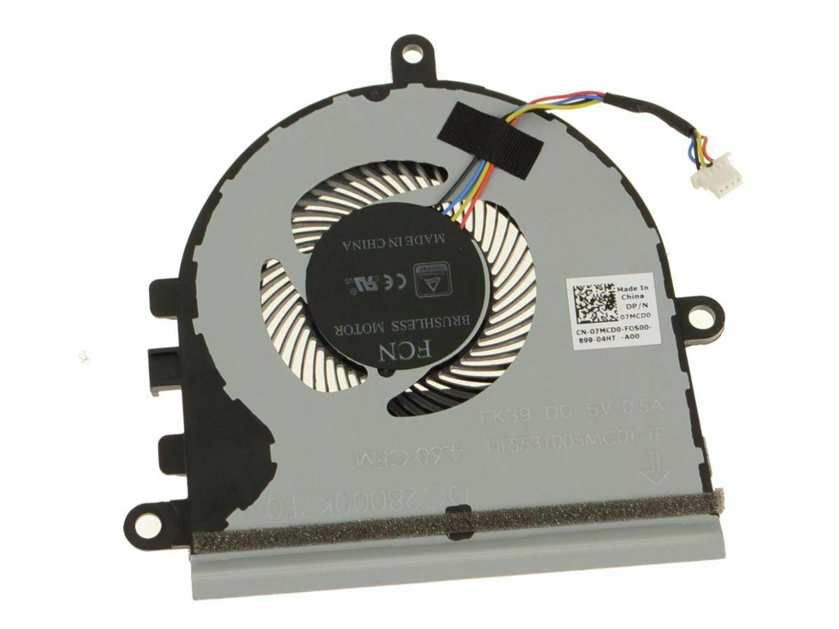 New Original Laptop CPU Cooling fan for CN-07MCD0 07MCD0 DFS531005MC0T FK39 DC 5V 0.5A Notebook Cooler Fan DC28000K7F0
