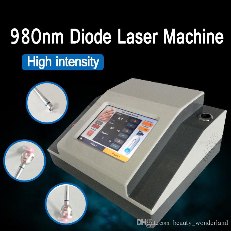 Macchina vascolare multifunzionale di rimozione 980nm del laser a diodi della macchina di rimozione della vena del ragno multifunzionale di alto potere 980 laser