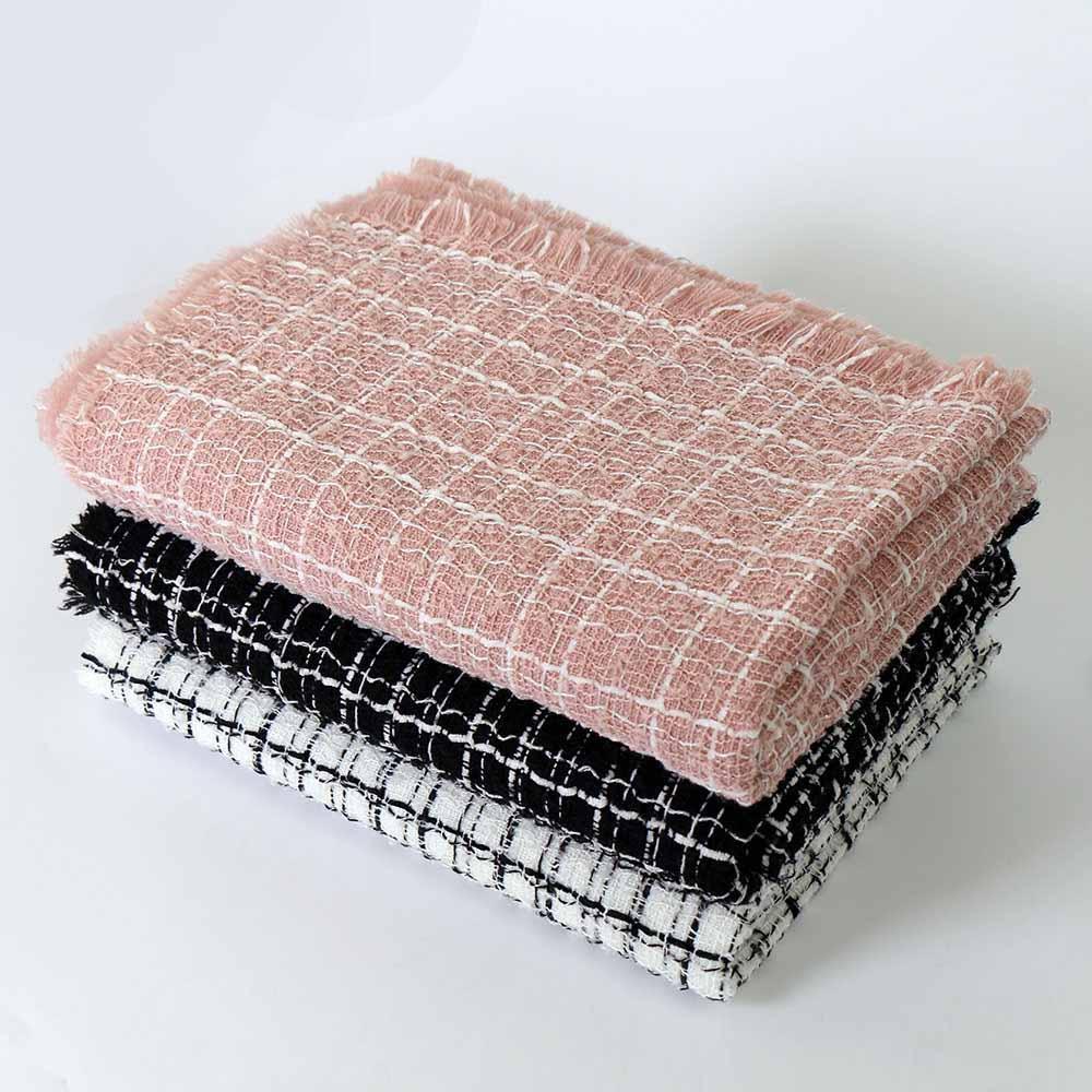 Automne et hiver chaud écharpe en laine de sport en plein air de la mode masculine concepteur de deux écarquilla écharpe épaisse et solide