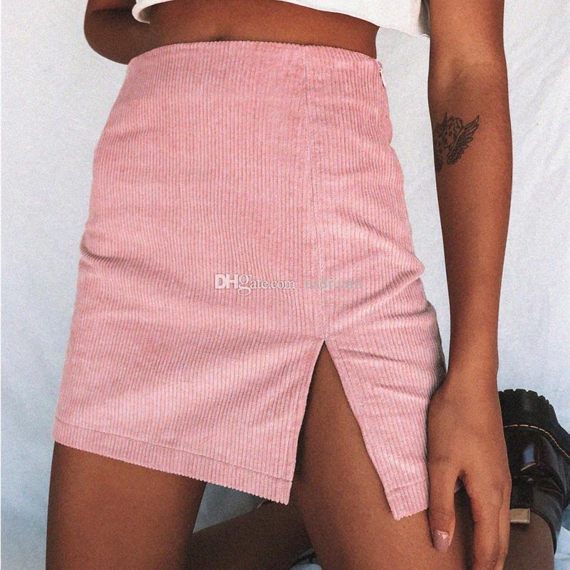Cintura alta A Linha vestido da mulher vestidos ventilação saias Midiskirt mini-vestido mulheres vão fundo e mulheres de areia moda roupas
