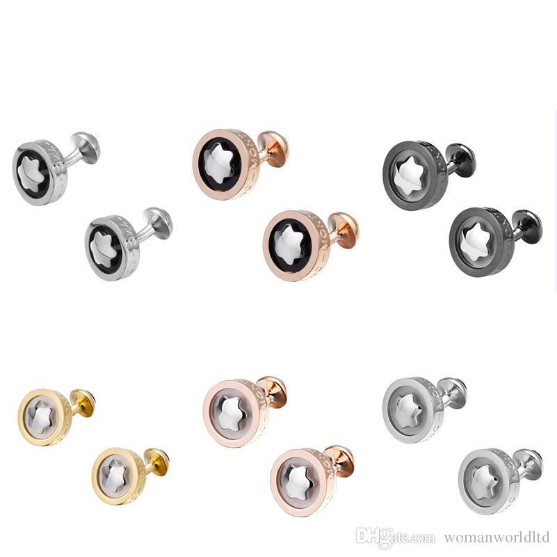 Yüksek Kalite Takı Erkek Tasarımcı Fransız Gömlek Kol Düğmeleri Küçük Gemelos Lüks Düğün Baba Damat Groomsmen Hediye Kol Düğmeleri Süsler