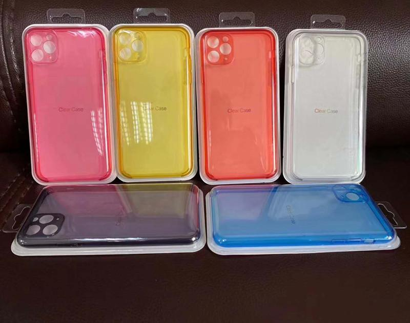 Wholesale Original Official Style Clear Case For Apple iPhone 11 X XS MAX XR Case For iPhone 7 8 Plus transparent Cover with Retail Box