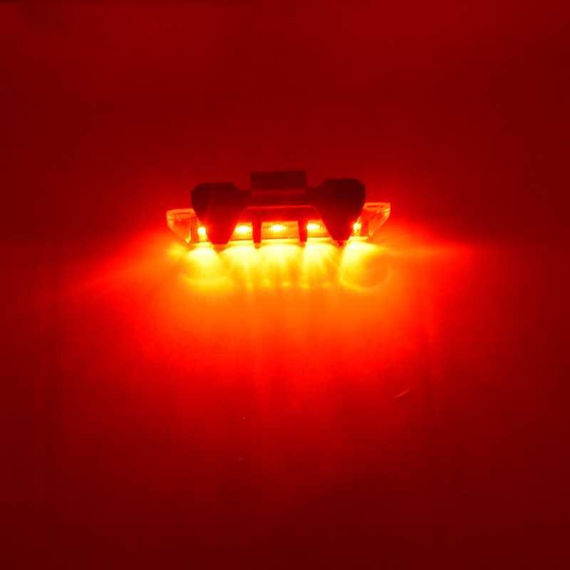 Portable USB cauda recarregável Bicicleta Depois de advertência da cauda de luz de segurança LED Realce branco / vermelho / azul