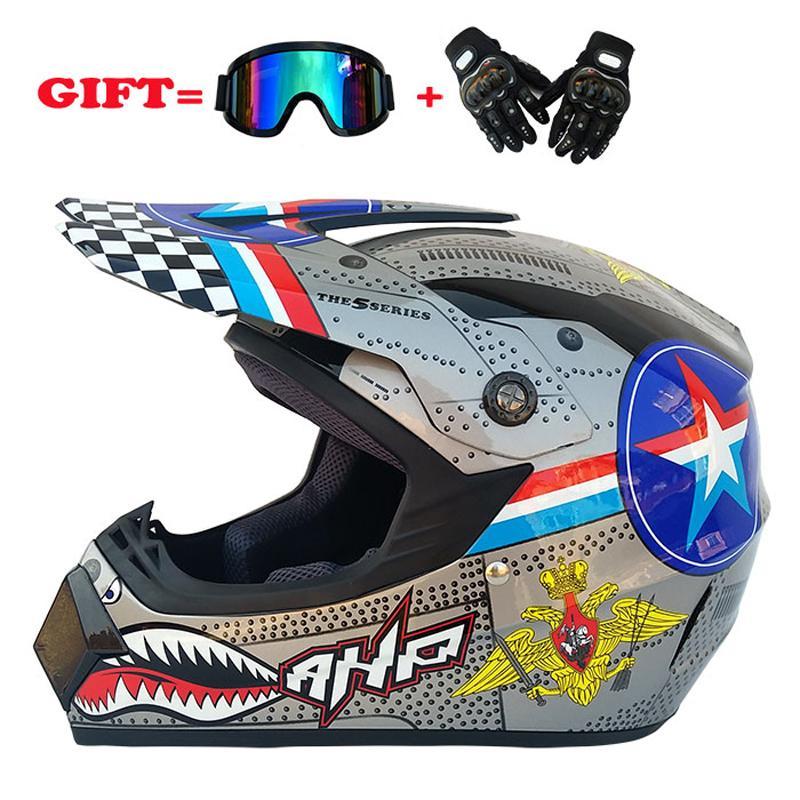 Sujeira motocicleta Off Road Bike Capacete Motocross Corrida Capacete Downhill Mountain Capacete Adequado
