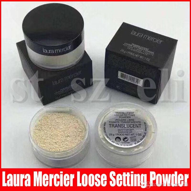 Laura Mercier Loose Setting Powder Waterproof Long-lasting Moisturizing Face Loose Powder Maquiagem Translucent Makeup Black Box
