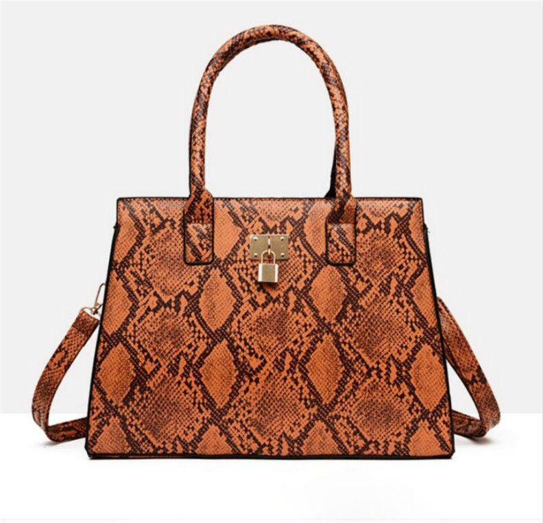 New Fashion Luxury Alligator Women's Tote Handbags Designer Brand Messenger Bags Shoulder Bags Sac A Main #dfg54