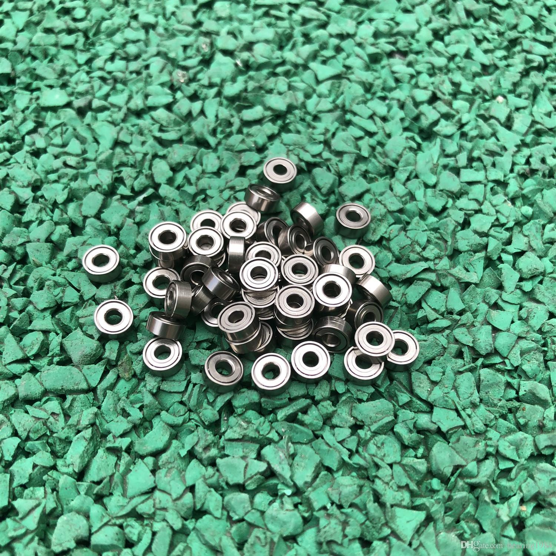 500 pz / lotto MR52ZZ MR52 ZZ L-520ZZ 2x5x2.5mm Cuscinetto a sfere in miniatura a sfere con doppio scudo 2 * 5 * 2.5mm MR52Z