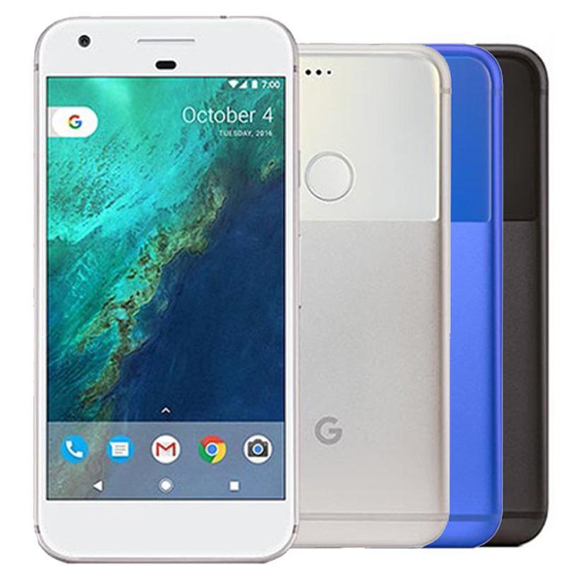 Reformiert Original-Google Pixel XL 5,5 Zoll Quad Core 4 GB RAM 32 GB 128 GB ROM Einzelne SIM 4G LTE Android intelligentes Telefon DHL 1pcs