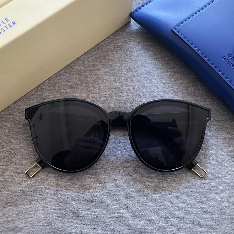 2020 Preto Peter Mulheres Sunglasses Coréia Gentil Sunglasses Monstro Estrela Sunglass Moda senhora óculos de sol Vintage Original Pacote CY200520