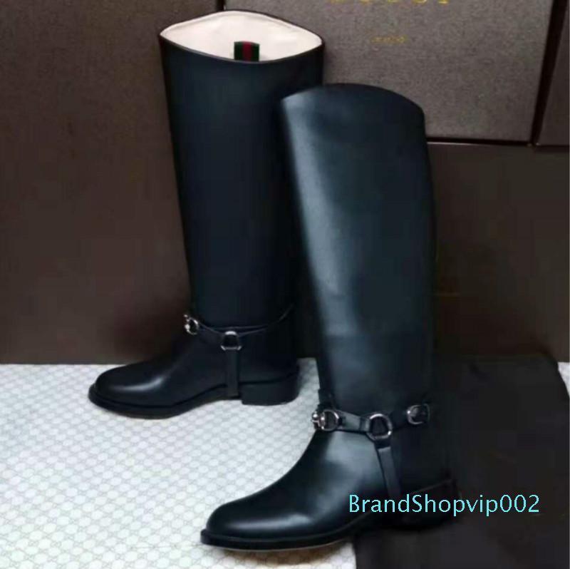Designer New Womens Boots Black High