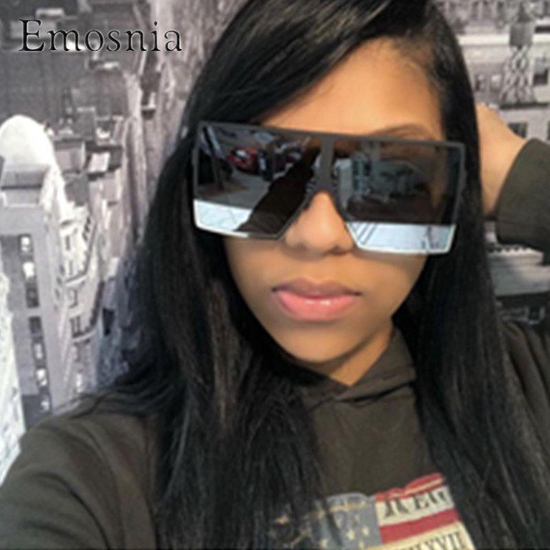 Emosnia Unisex Square Modis Sunglasses Oculos De Sol feminino 2019 Vintage Luxur