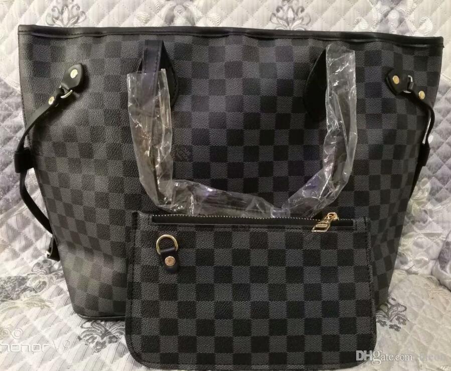 19 sac femmes sacs à main femme PU cuir fourre-tout dames épaule décontractée sac à main ensemble 2 pièces sac à main + sacs d'embrayage