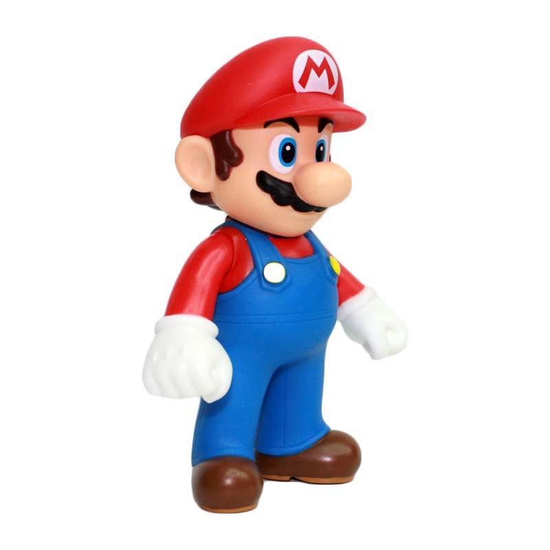 Super Mario PVC Action-Figuren Puppen Mario luigi Feuer Mario-Feuer luigi Abbildung Toys 4 Styles 5 Zoll